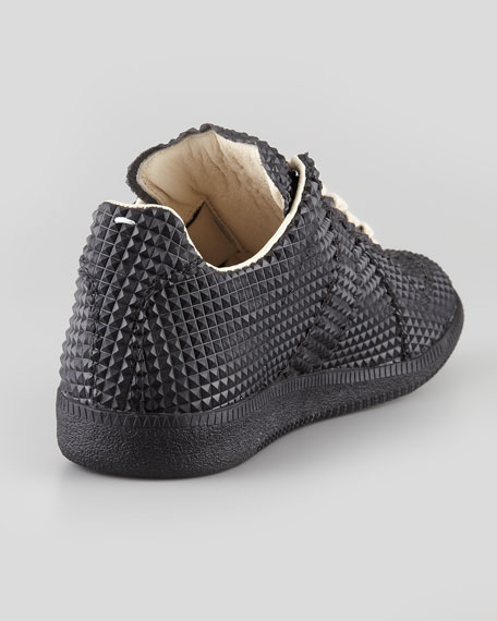 Pyramid Studded Leather Sneaker