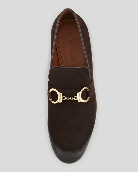 Jimmy chooHandcuff Leather Loafers sfpiCmNGVC