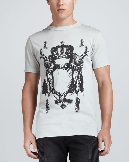 Crest Logo Short-Sleeve T-Shirt