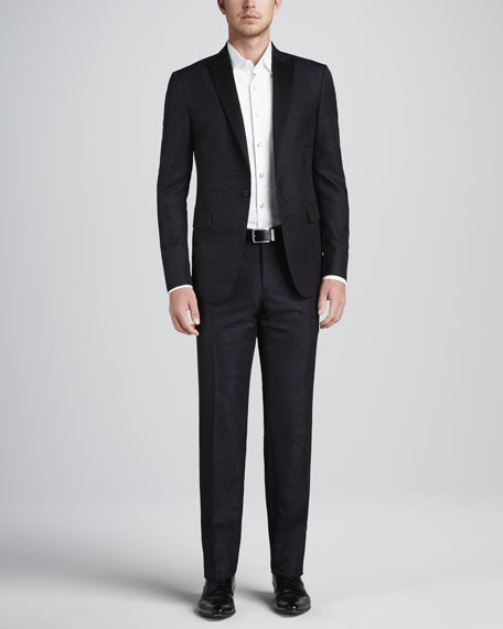 Paisley Jacquard Tuxedo