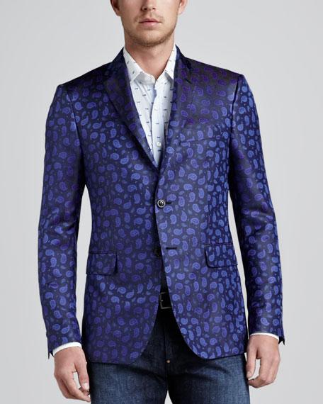 Silk Paisley Sport Coat