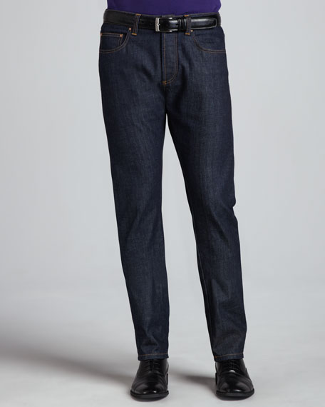 Basic-Fit Denim Jeans, Blue