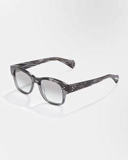 Oliver Peoples Jannsson Photochromic Sunglasses, Storm Gray