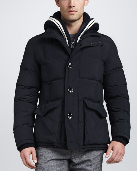 Martiques Quilted Jacket, Navy