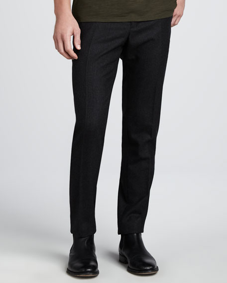 Tweed Trousers, Charcoal