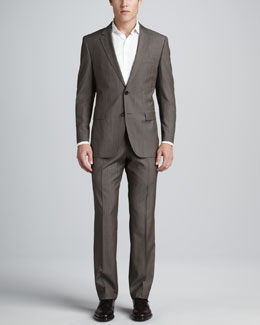 Boss Hugo Boss James/Sharp Two-Piece Suit, Tan