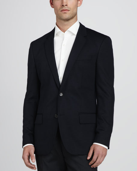 Hadley Two-Button Blazer, Navy