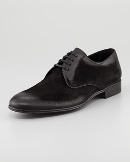 Dolce & Gabbana Brushed Suede Derby Shoe