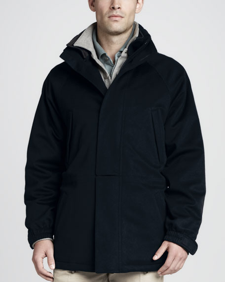 Loro Piana Icer Storm System Jacket, Cashmere Sweater ...