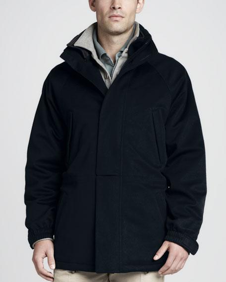 Icer Storm System Jacket, Navy Blue
