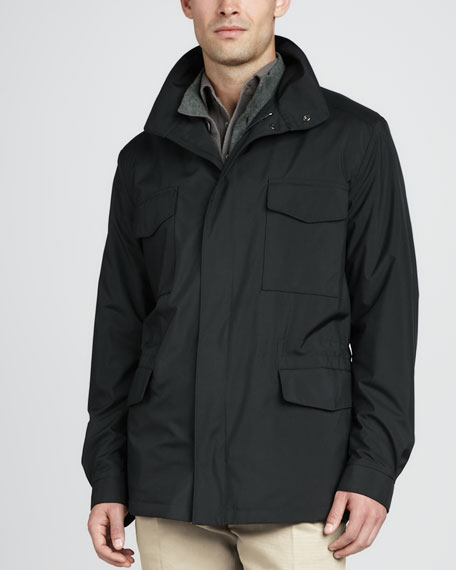 Windmate Storm System Jacket, Forest Green