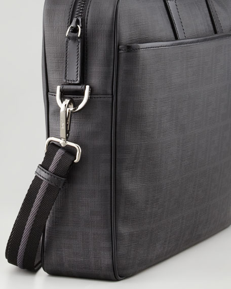 Zucca Briefcase, Black