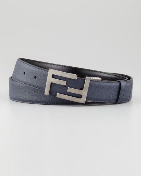 logo buckle belt - Blue Fendi OARBT7C8