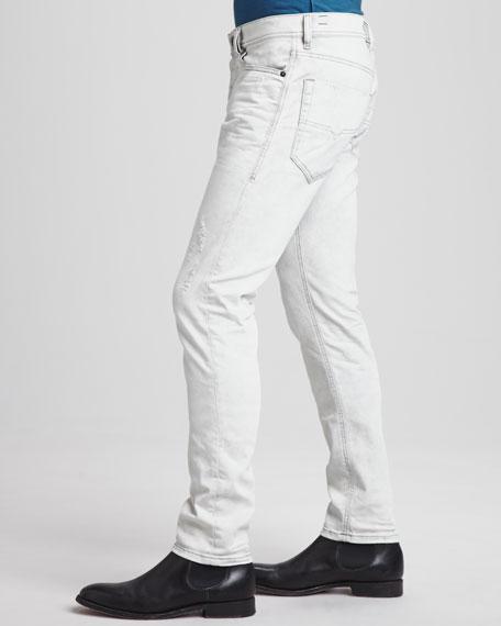563933486b1 Diesel Tepphar Distressed Jeans, Light Gray