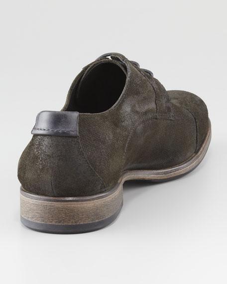 Dylan Brushed Cap-Toe Shoe