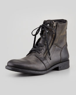 John Varvatos Star USA Bleeker Side-Zip Boot, Black