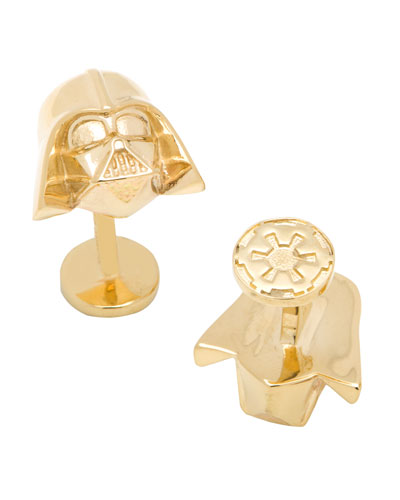 Darth Vader Gold Star Wars Cufflinks