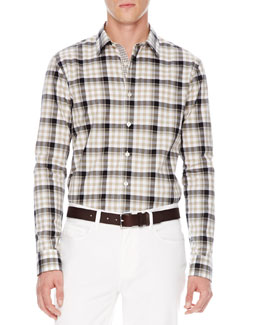 Michael Kors  Ryan Check Shirt