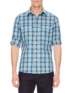 Michael Kors  Langston Check Shirt