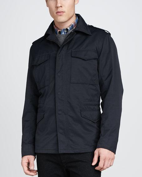 Delancey Jacket, Navy