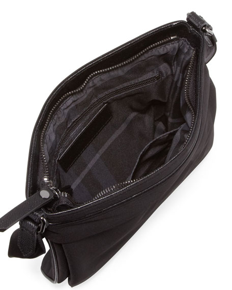 Men's Beat Check Small Messenger Bag, Black