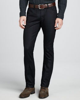John Varvatos Star USA Bowery Rinsed Glass Jeans