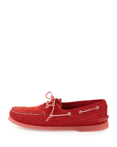 Authentic Original Suede Slip-On, Red