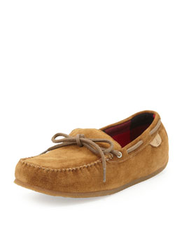 Sperry Top-Sider R&R Suede Slipper, Tan