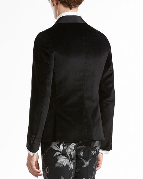 Velvet Evening Duke Jacket, Black