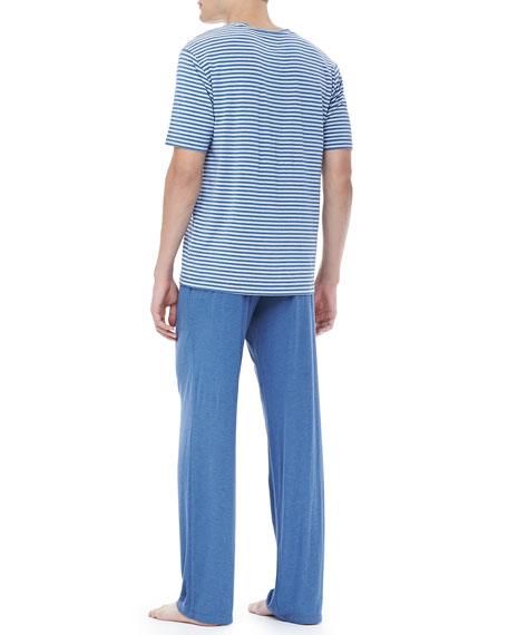 Blue Pajamas Set