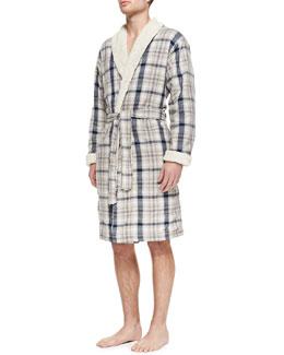 UGG Australia Cruzat Robe, Indigo Plaid