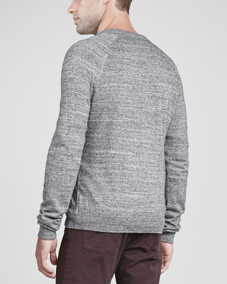 Lucian DL Cotton-Blend Cardigan, Gray