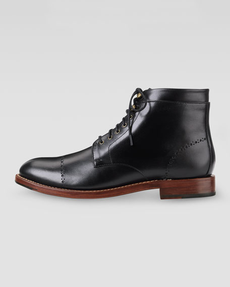 Martin Lace-Up Boot, Black