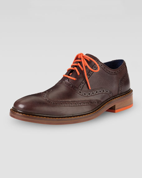 Cole Haan Colton Winter Wing-Tip, Brown