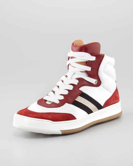 Atlanta Colorblock Hi-Top Sneaker