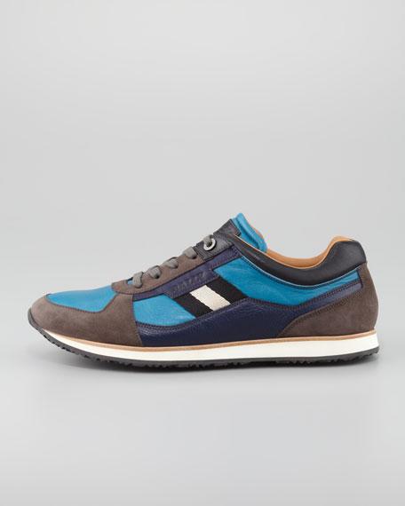 Oklahoma Low-Top Sneaker, Bright Blue