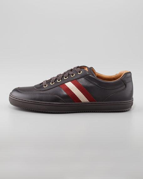 Olympia Low-Top Sneaker, Dark Brown