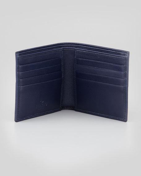 Camouflage Bi-Fold Wallet, Blue