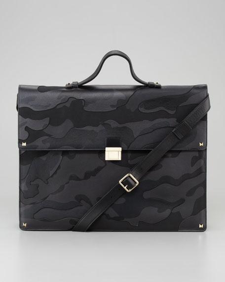 Rockstud Camo Briefcase
