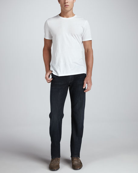 Sid Classic Straight-Fit Jeans in Troy