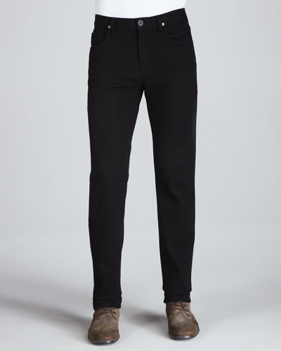 Sid Midnight Straight-Leg Jeans, Black