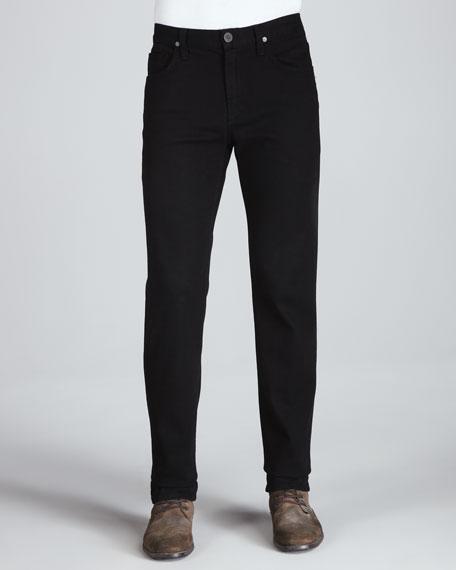 Citizens of Humanity Sid Midnight Straight-Leg Jeans, Black