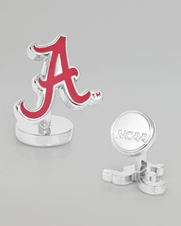 Cufflinks Inc. Alabama Crimson Gameday Cuff Links