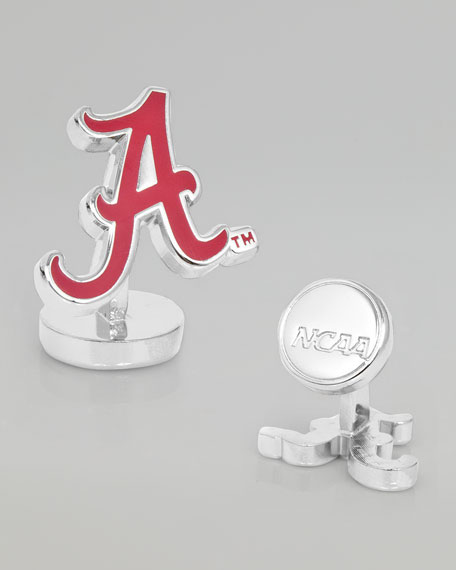 Alabama Crimson Gameday Cuff Links