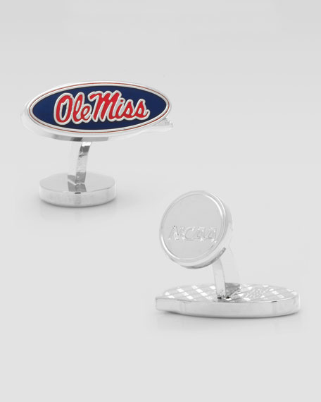 Ole Miss Rebels Cufflinks
