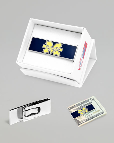 Michigan Wolverines Gameday Money Clip