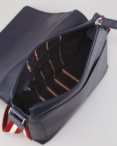 Trainspotting Men's Messenger Bag, Blue