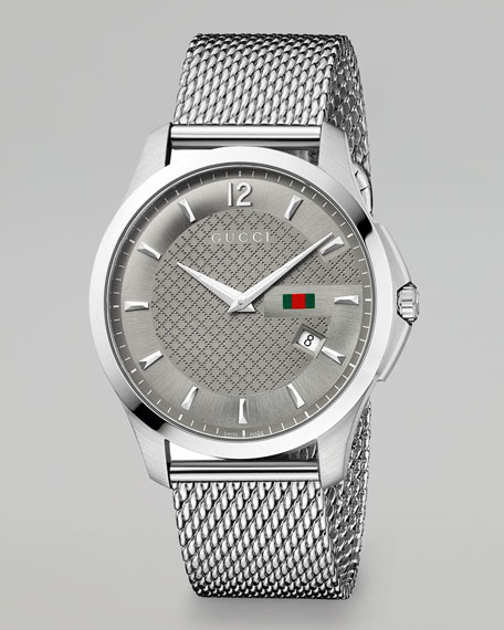 Steel Mesh Bracelet Watch