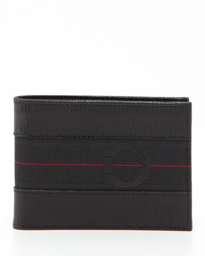 Salvatore Ferragamo Revival Sport Wallet, Black