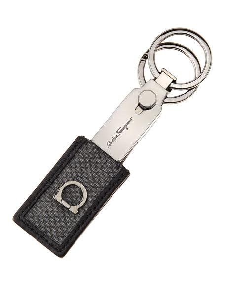 New Form Valet Key Chain, Gray